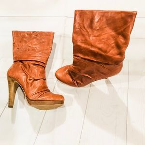 Jessica Simpson Brown Arnelia above ankle boots